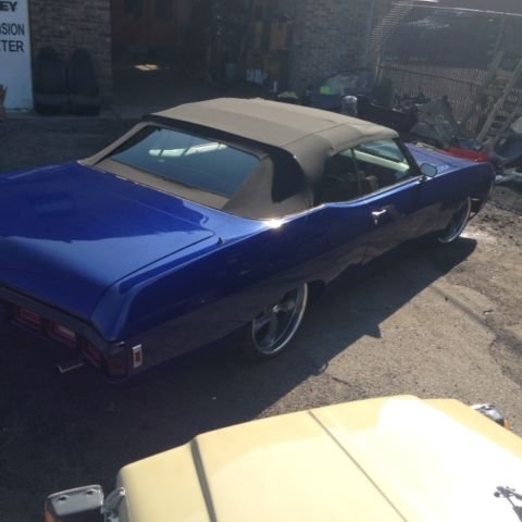 1969 impala convertible project 22 wheels disc brake new top custom interior for sale in lodi. Black Bedroom Furniture Sets. Home Design Ideas