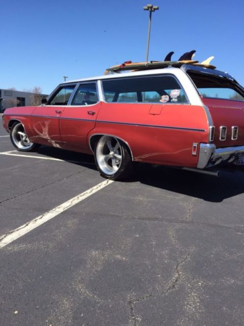 1969 Impala Kingswood Station Wagon Surf Wagon Hot Rod