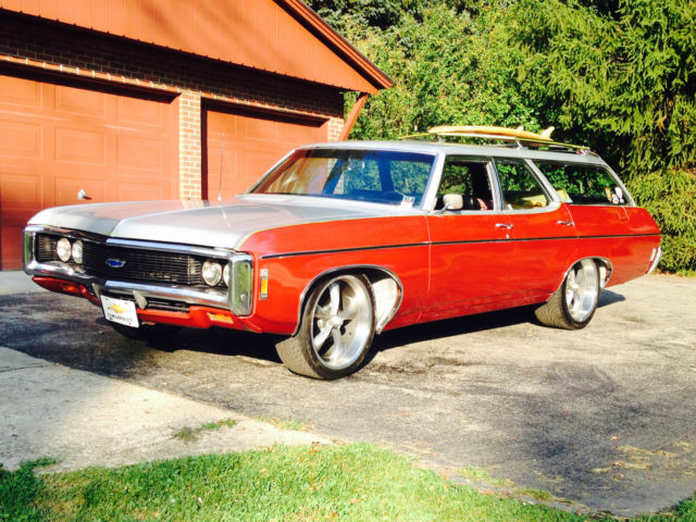 1969 impala kingswood station wagon surf wagon hot rod. Black Bedroom Furniture Sets. Home Design Ideas