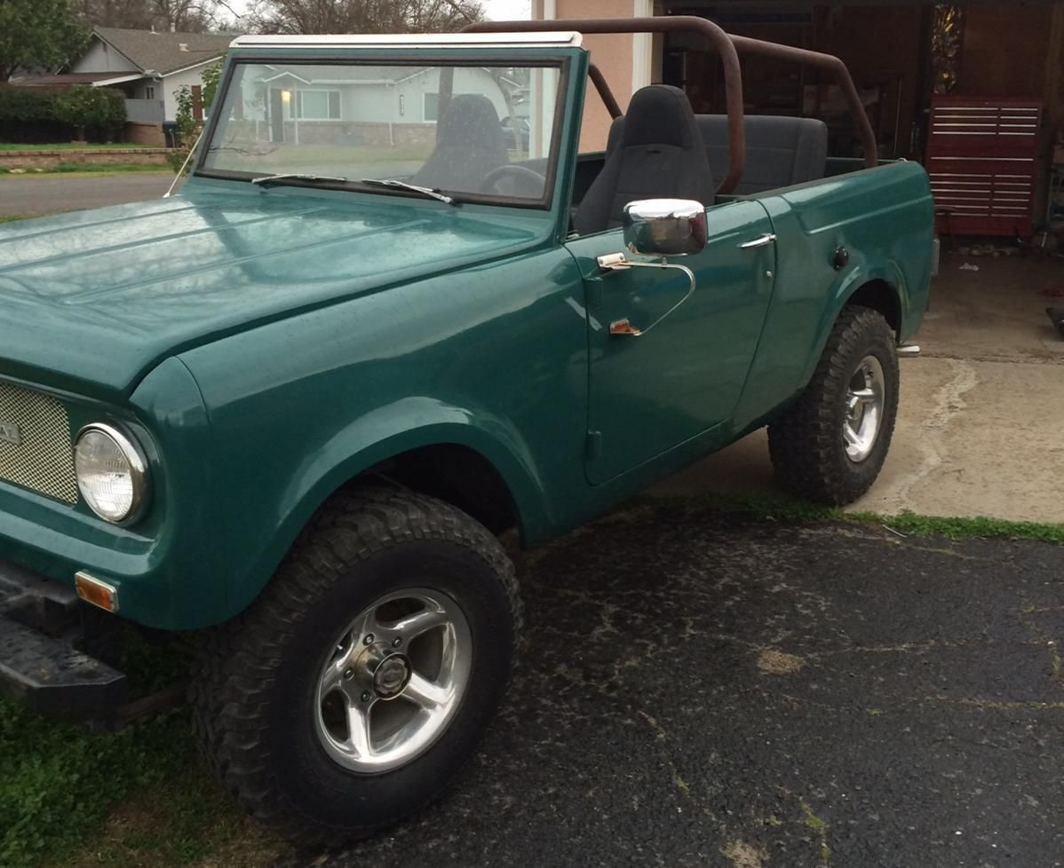 1969 international scout 800 4x4 for sale in carmichael
