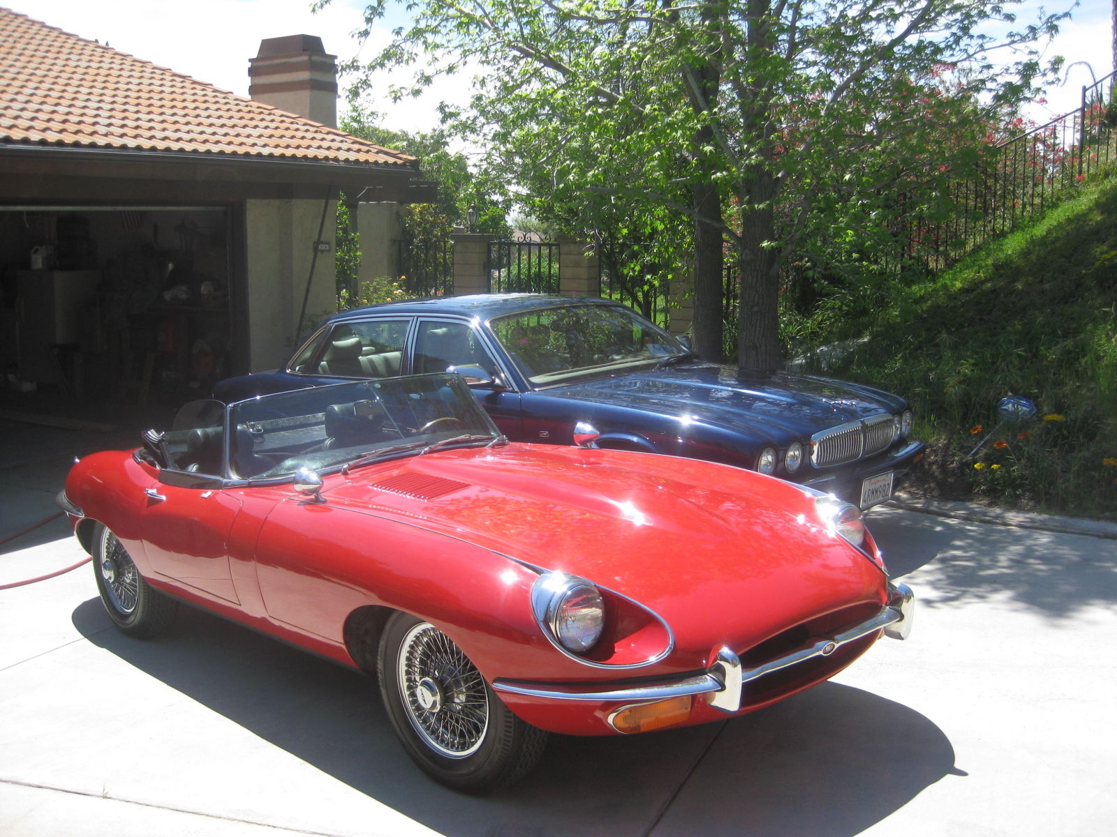 1969 jaguar e type roadster for sale in dublin ohio. Black Bedroom Furniture Sets. Home Design Ideas