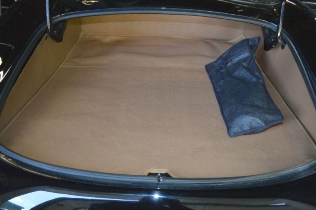 1969 jaguar e type roadster series 2 black black leather interior canvas top for sale in. Black Bedroom Furniture Sets. Home Design Ideas