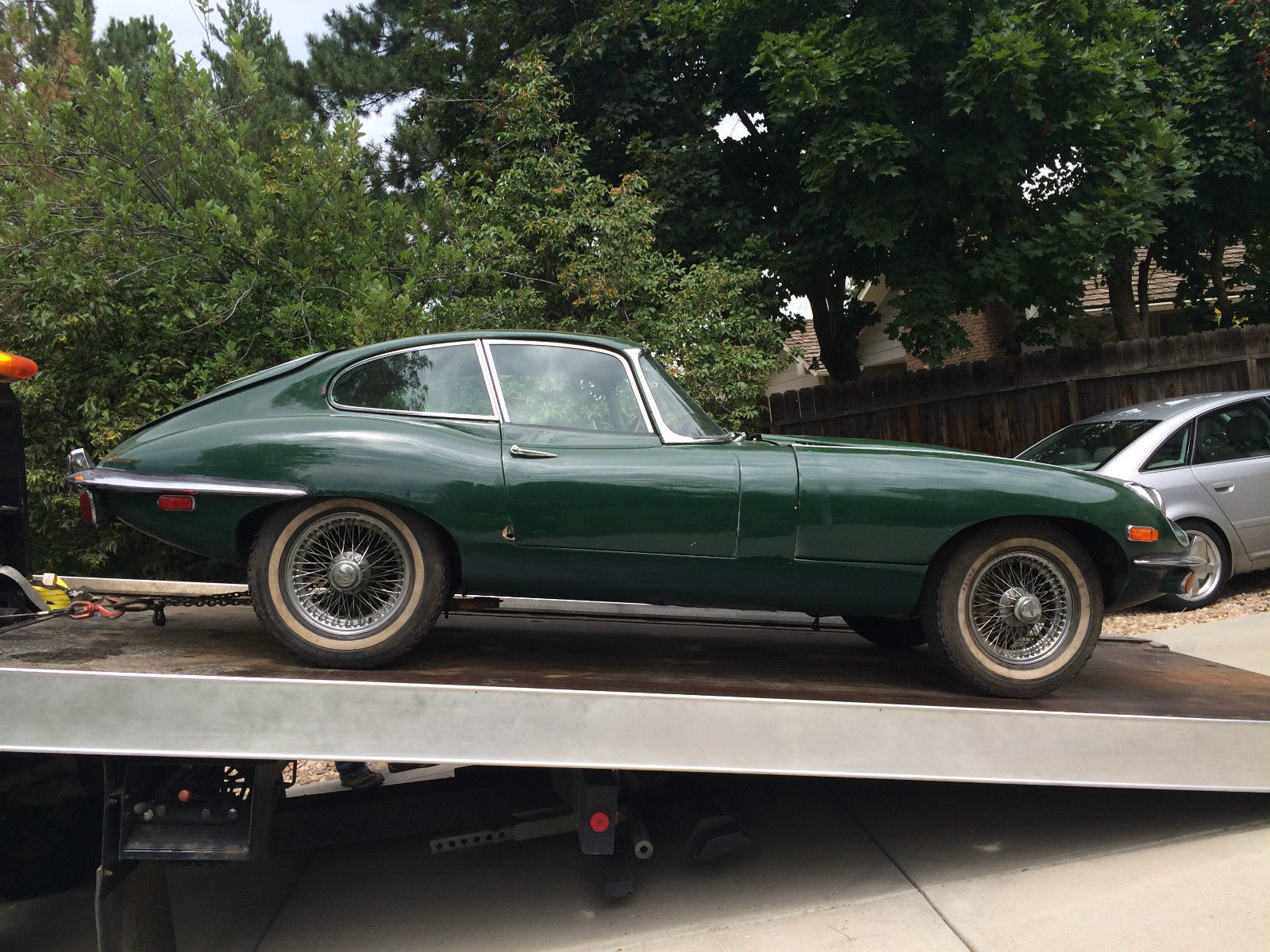 1969 Jaguar E Type Xke 2 Seater Fhc Coupe Project Numbers Match Jdht For Sale In Boulder