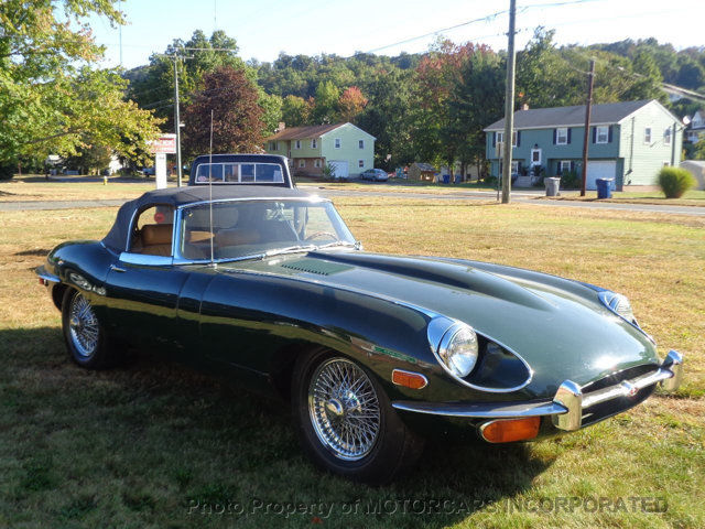1969 jaguar e type xke convertible series ii roadster ots. Black Bedroom Furniture Sets. Home Design Ideas