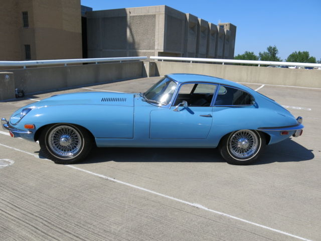 1969 jaguar xke 4 2l series ii coupe 46 380 orig miles. Black Bedroom Furniture Sets. Home Design Ideas
