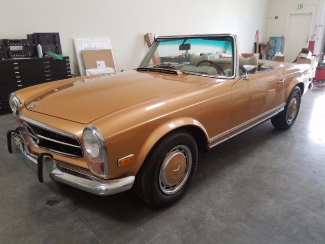 1969 mercedes benz 280sl 42 954 actual miles with for Mercedes benz hollywood