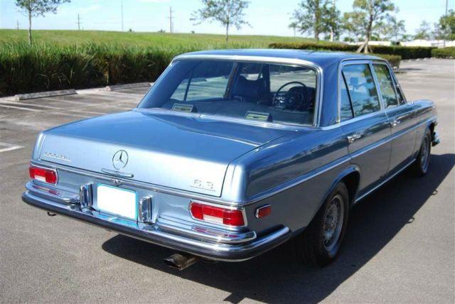 1969 Mercedes Benz 300 Sel 6 3 W109 Classic Sedan For Sale