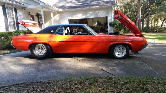 1969 Mercury Cougar Xr 7 Pump Gas Pro Street