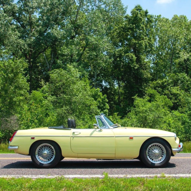 1969 MG MGC Roadster for sale: photos, technical