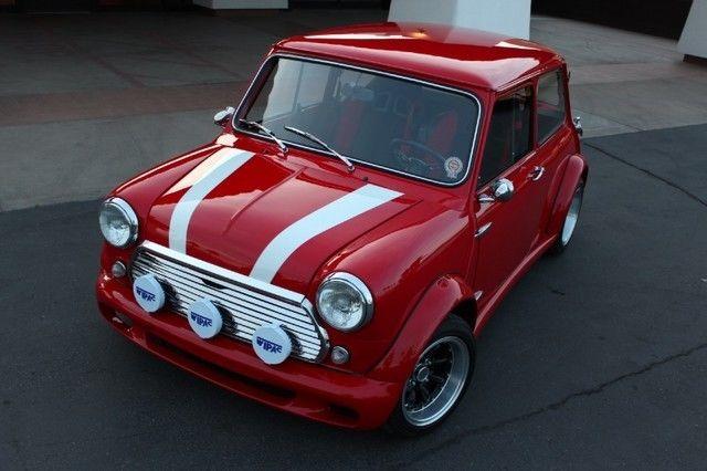 1969 Mini Cooper. Fully Custom. VTec B16 Honda Drivetrain ...