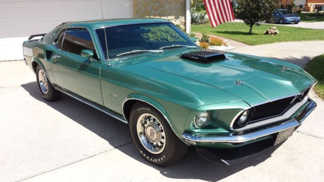 1969 Mustang Gt R Code Fastback Ultra Rare 1 Of 1