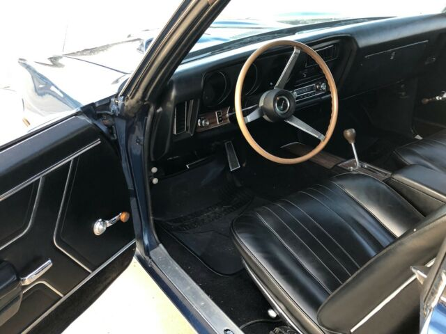 1969 pontiac gto liberty blue very original car for sale photos technical specifications. Black Bedroom Furniture Sets. Home Design Ideas
