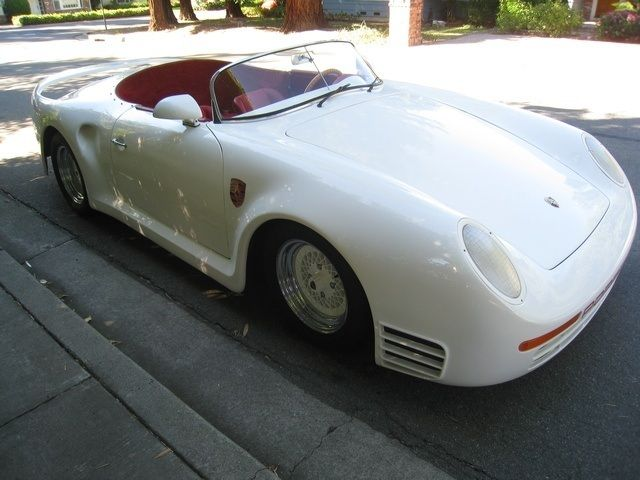 1969 Porsche 359 Speedster Replica Kit Beautiful 433 Miles