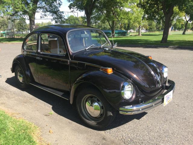 1969 standard beetle and 1972 vw super beetle bug  s