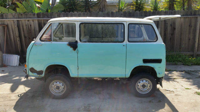 1969 subaru 360 van 4x4 supercharged project for sale in. Black Bedroom Furniture Sets. Home Design Ideas