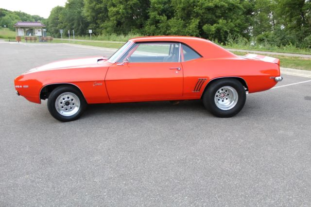 1969 True SS Camaro for sale: photos, technical specifications