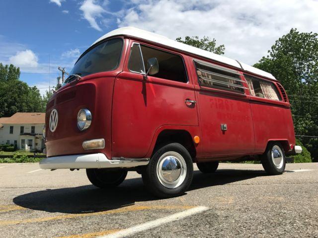 1969 Volkswagen Bus Vw Westfalia Camper