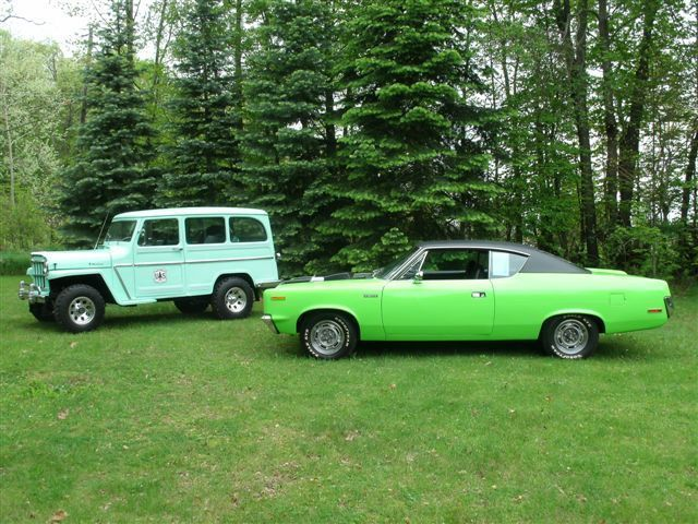 1970 amc rebel machine big bad green for sale in grand. Black Bedroom Furniture Sets. Home Design Ideas