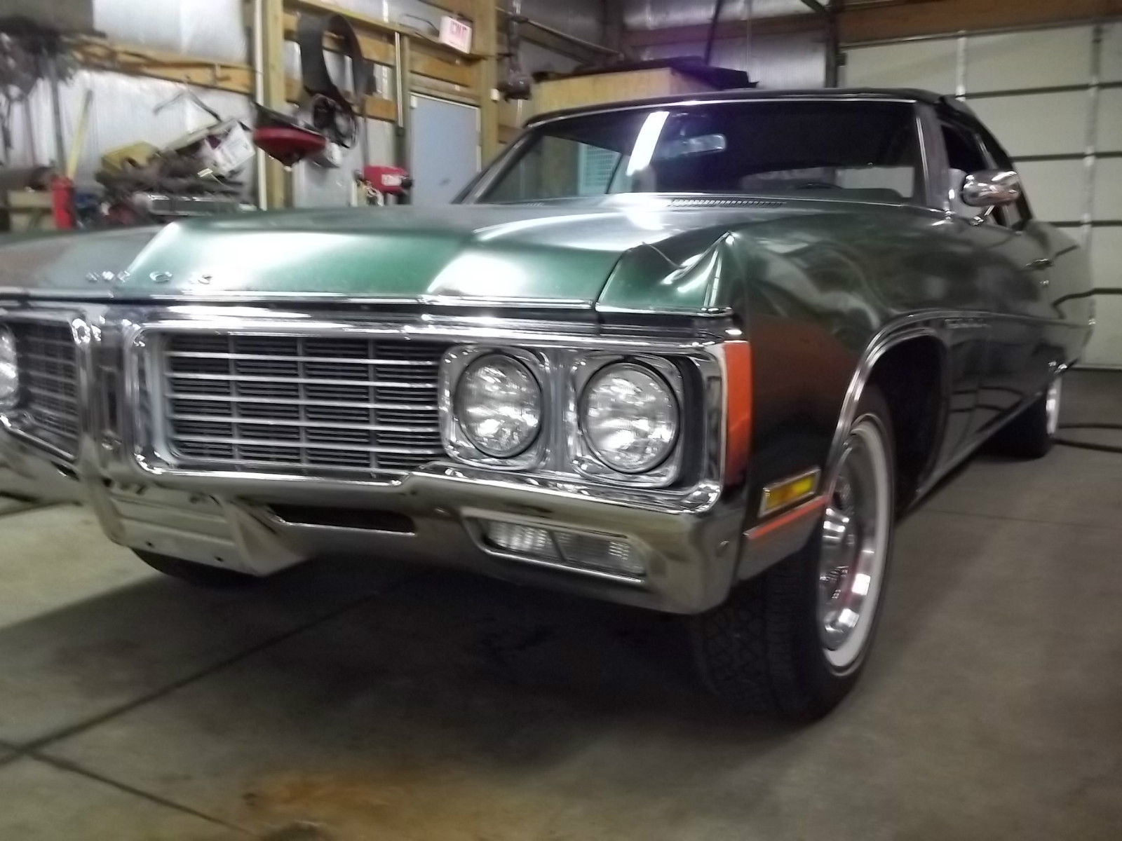 1970 buick electra 225 convertible w sbc aluminum headed for Buick motors for sale
