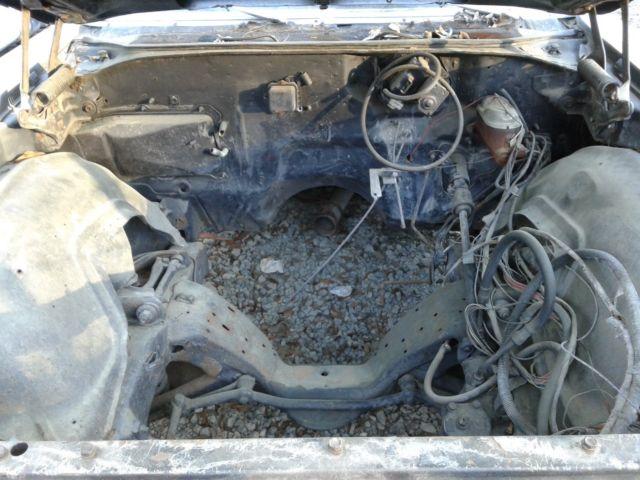 1970 Buick Skylark Post 2dr Project Drag Race Parts Car 71