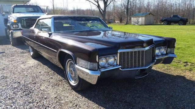 1970 cadillac convertibles one is a parts car for sale in eden new york united states. Black Bedroom Furniture Sets. Home Design Ideas