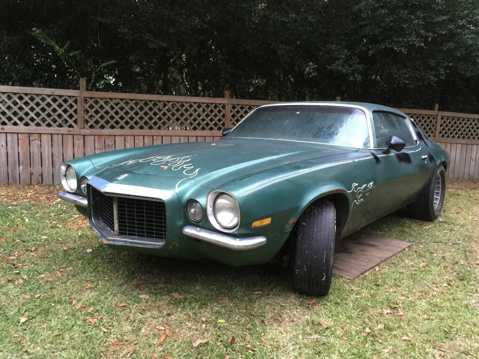 1970 camaro rally sport coupe with split bumper for sale in mobile alabama united states. Black Bedroom Furniture Sets. Home Design Ideas