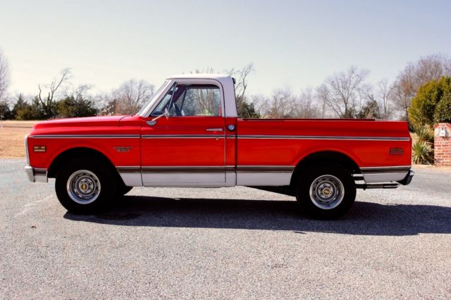 1970 Chevrolet C10 Factory Cst Short Bed Pickup V8 Automatic