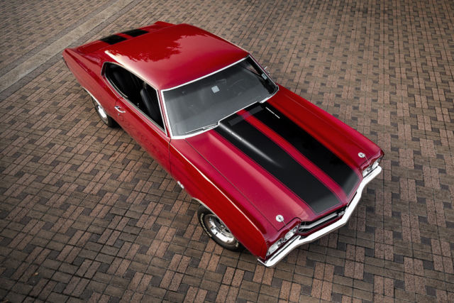 1970 Chevrolet Chevelle SS LS6 454 / 450 HP 4 Speed with 2 Build