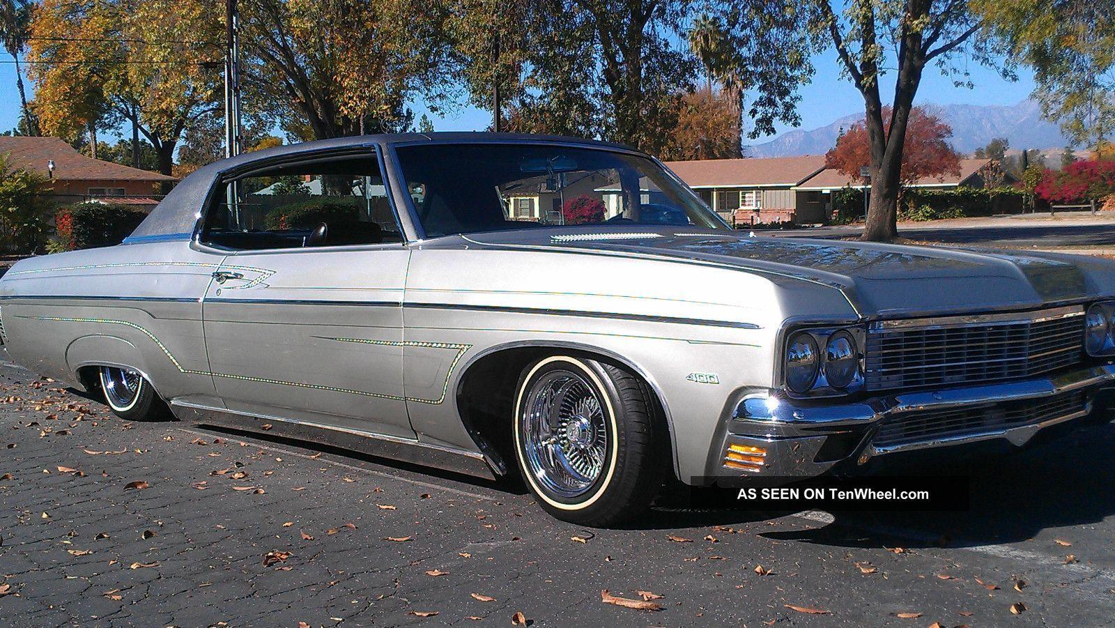 1970 Chevrolet Impala Lowrider V8 400motor 6 6l Engine