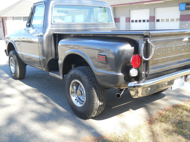 1970 Chevrolet K10 4x4 Pickup  Shortbox  Stepside  Cst For