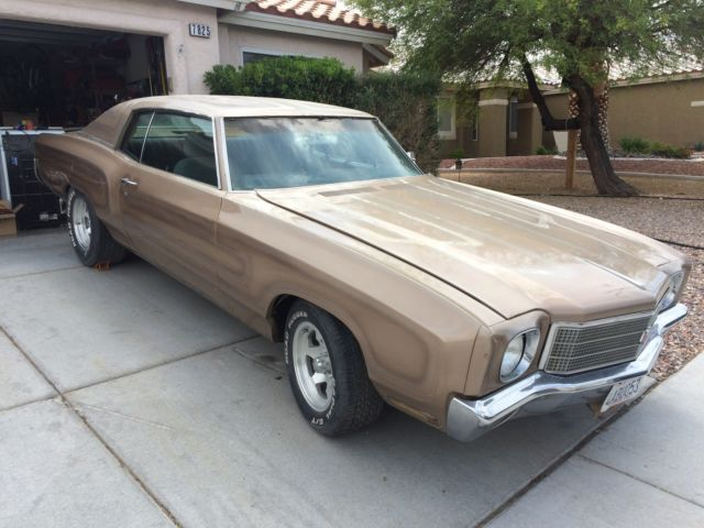 1970 Chevrolet Monte Carlo For Sale In Polk City Florida