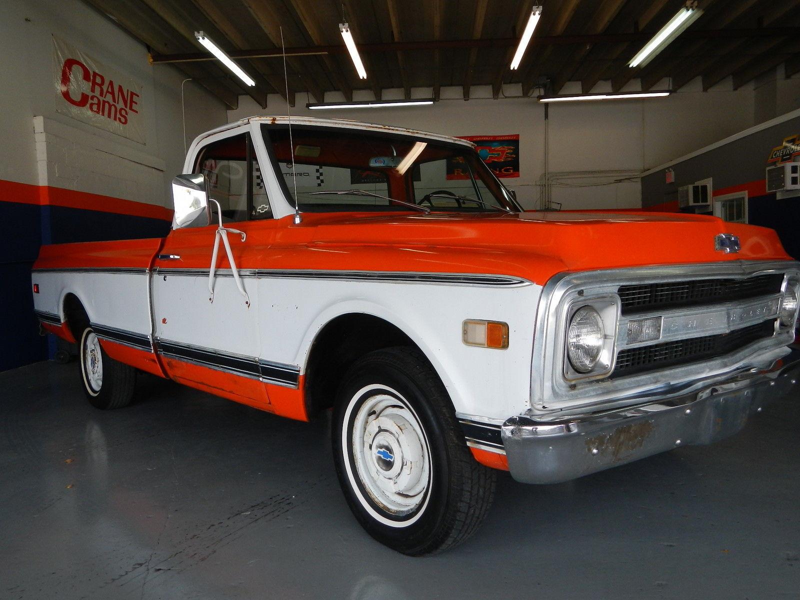 1970 Chevy C10 Lwb 100 Percent Original Truck Great Patina