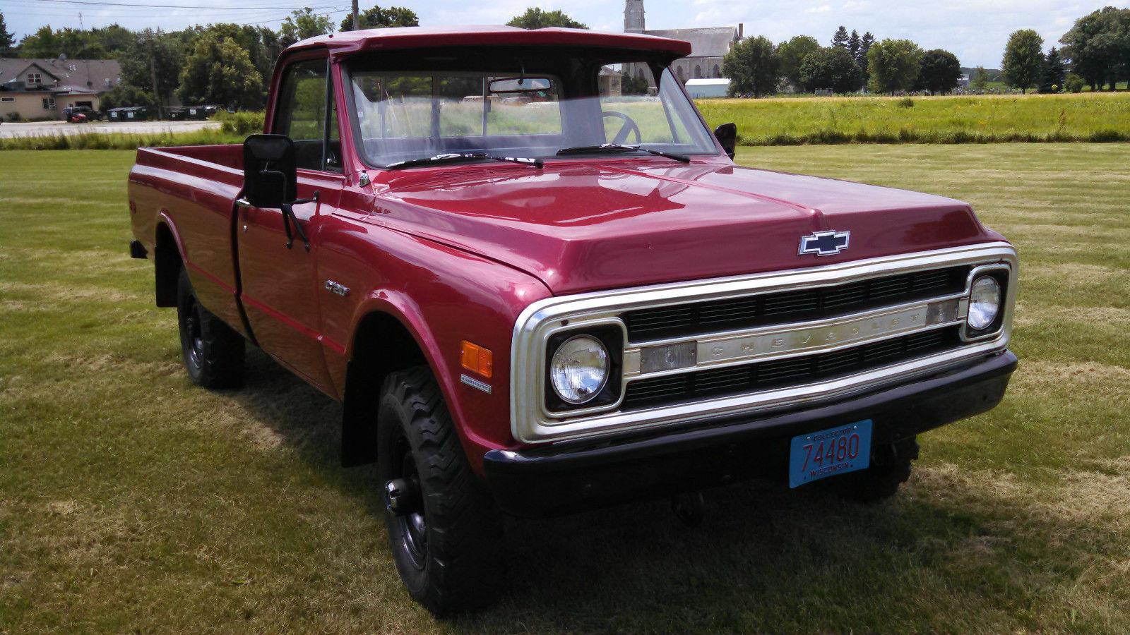 Chevy C X Spd Original Miles Rd Owner Restored on Chevy Equinox Firing Order