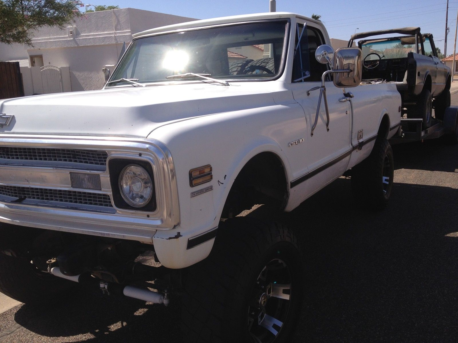 1970 Chevy Cst K10 4x4 With 3 4 Ton Axels Rust Free Truck 69 70 71 1968 C10 Lifted Chevrolet C 10