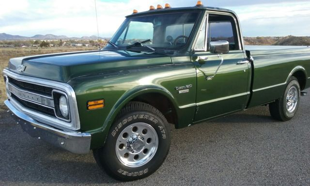 1970 Chevy Pickup >> 1970 Chevy Pickup C20 For Sale Photos Technical