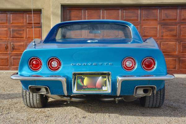 1970 Corvette Recently Completed Big Block Desert Car 4