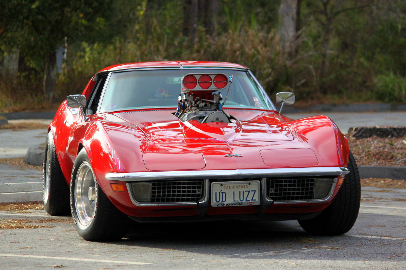 1970 corvette stingray with 6 71 blower for sale in pacific grove california united states. Black Bedroom Furniture Sets. Home Design Ideas