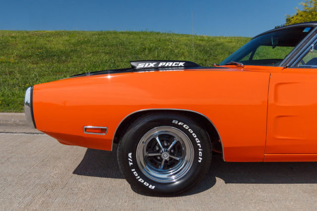 Orange Coast Dodge >> 1970 Dodge Charger 440 6-Pack 4 Speed Correct Go Mango California Car