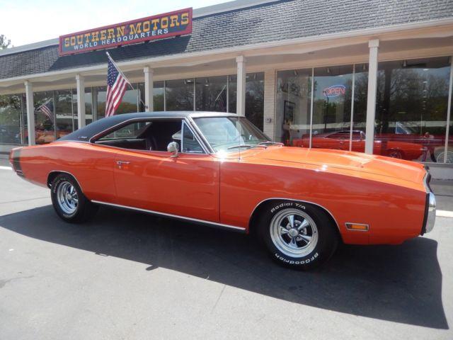 1970 Dodge Charger 500 Hemi Orange 383 Car For Sale Photos Technical Specifications Description