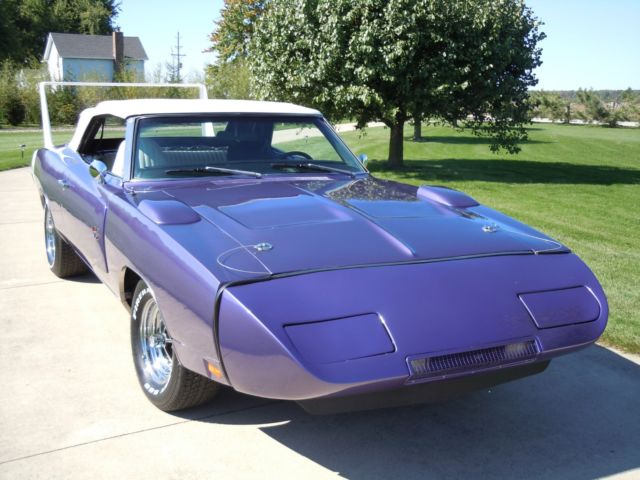 2007 Dodge Charger For Sale >> 1970 Dodge Charger Daytona Convertible Plum Crazy 383 CID for sale: photos, technical ...