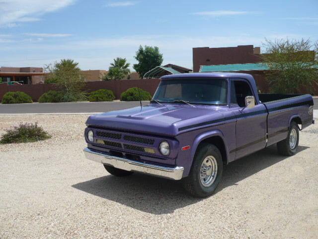 1970 Dodge D200 The Dude 440 Magnum Restored D 200 Truck