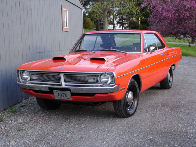 1970 Dodge Dart 340c I 4 Speed Ev2 Hemi Orange Very