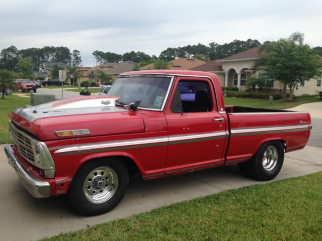 1970 Ford F100 Short Bed Bump Side Drag Truck For Sale In