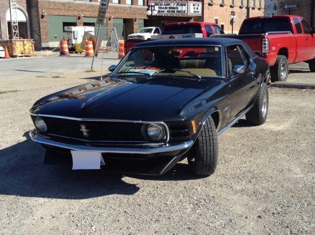 1970 ford mustang grande for sale in lincoln illinois united states. Black Bedroom Furniture Sets. Home Design Ideas