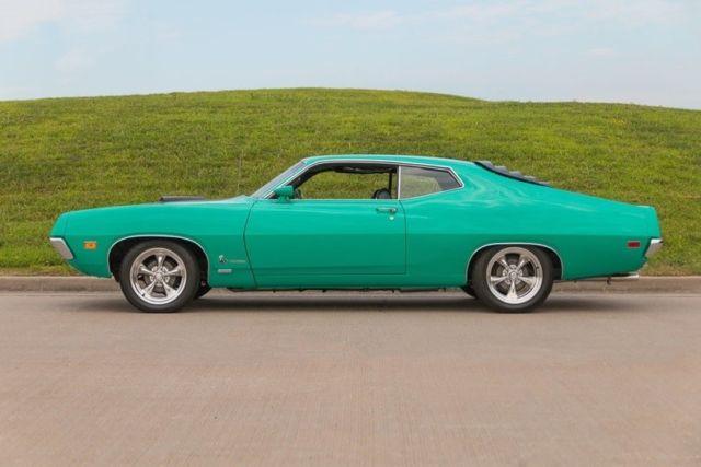 1970 ford torino cobra 428 v8 4 speed manual rare color for 1970 torino rear window louvers