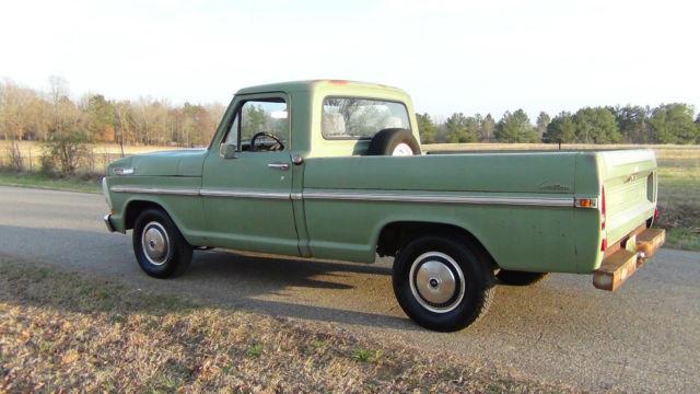 1970 Ford Truck Short Bed Custom Very Solid Original