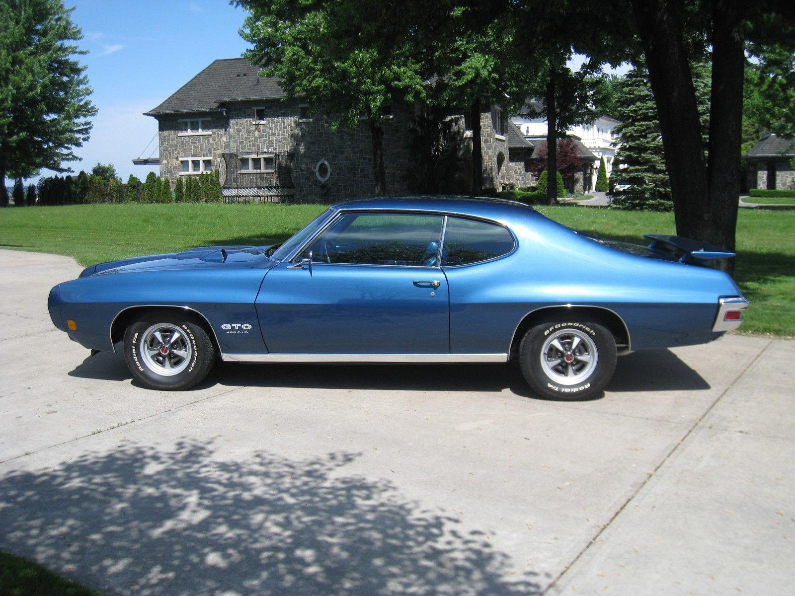 Auto Rotisserie For Sale Canada: 1970 GTO 455 HO Rare California Emissions Car Rust Free