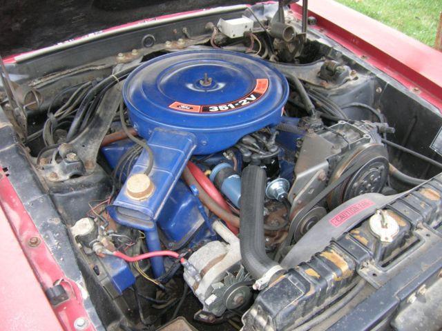 1970 Mercury Cougar Xr7 Convertible 351 Cleveland Not 1969
