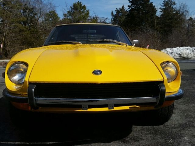 Nissan 240Z For Sale >> 1970 NISSAN DATSUN Yellow 240Z Fairlady Black Leather ...