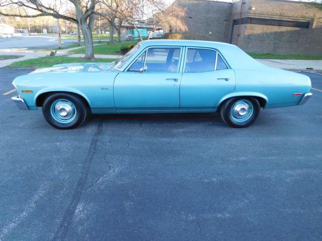 Youngstown Chevrolet >> 1970 NOVA 8,800 ACTUAL MILE SURVIVOR , ALL ORIGINAL, RARE MISTY TURQUOISE PAINT